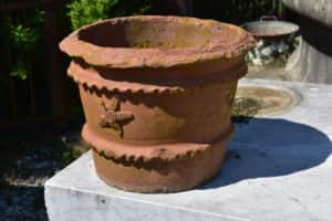 Ancient terracotta vase