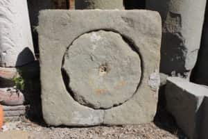 Ancient manhole cover