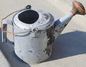 Antique watering can