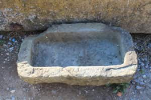 Ancient stone basin