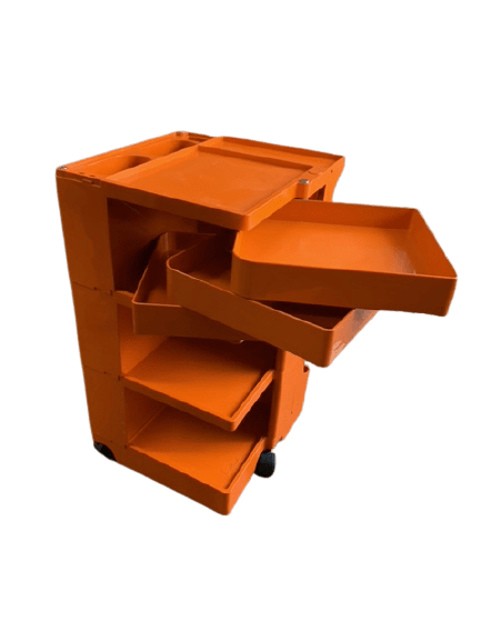 Joe Colombo orange cabinet
