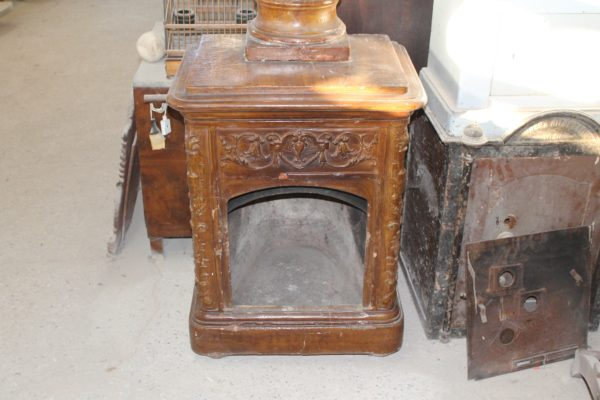 Fireplace in cotto